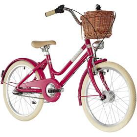 """Ortler Bricktown - Vélo enfant - 20"""" rose/rouge"""